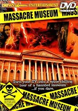 MASSACRE MUSEUM: VIRTUAL HALLOWEEN PARTY SCENE-SETTER DVD w/CREEPY SOUND EFFECTS