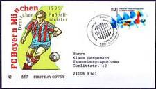 BRD 1999: Bayern Meister! FDC Nr. 2074 mit Bonner Sonderstempel! Gelaufen! 1803