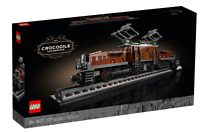 LEGO 10277 Crocodile Locomotive Train New in sealed box