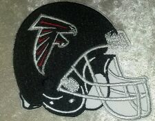 "Atlanta Falcons NFL Helmet 3.5"" Iron On Embroidered Patch ~USA Seller~FREE Ship!"