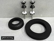 """Toilet Cistern Universal Seal Kit with Bolts 1.5"""" & 2"""" Donut Washers Doughnut"""