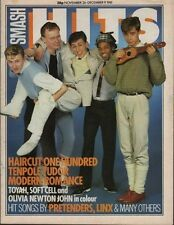 Haircut One Hundred on Smash Hits Magazine Cover 1981  Soft Cell  Modern Romance
