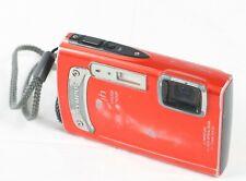 Olympus Tough TG-320 14.0MP Digital Camera Red