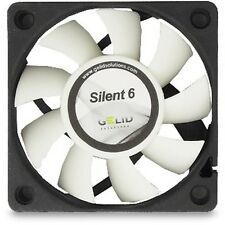 Gelid Solutions Silent 6CM 60mm Fan Cooler Case PC Computer Cooling 3 Pin Quiet