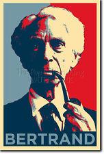 Bertrand Russell Arte Foto Print (Obama esperanza) Cartel De Regalo