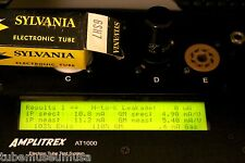 6SH7 SYLVANIA NOS PRISTINE TUBE AMPLITREX TESTED MATCHLESS AUDIO NOTE MB LEGEND