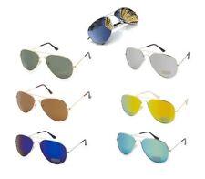 Unbranded Metal & Plastic Mirrored Sunglasses for Men