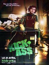 Affiche 120x160cm KICK-ASS 2010 Aaron Johnson,  Nicolas Cage, Chloë Moretz TBE #