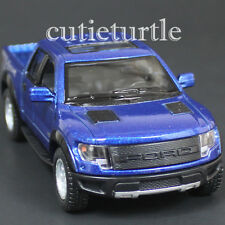 Kinsmart Ford 2013 F-150 SVT Raptor Supercrew Pick Up Truck 1:46 Diecast Blue