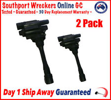 Genuine Mitsubishi Lancer Coil Pack No Leads Combo x2 CH CG 2.0L 4G94 - Express