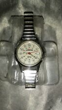 VINTAGE TIMEX INDIGLO EXPEDITION LADIES WATCH SILVER TONE