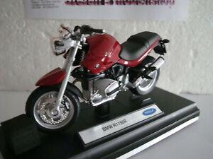 BMW R 1150 R rot   Welly  1:18