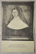 """CPA """" Abbaye St Nicolas de VERNEUIL - Madame Scholastique de Medavy"""