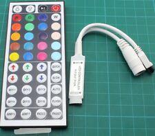 DC12V 6A Mini 44Key IR Remote Controller for 5050 3528 SMD RGB LED Strip Light
