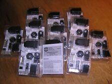 NEW - Lot of 11x Harting 09451251300 Han3A RJ45 Hybrid Cat5 plug 4+4p IDC