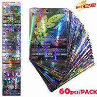 NEU 60 Pokemon Karten mit GX Stern DEUTSCH Top Zustand ! 2019 Ideal als Geschenk