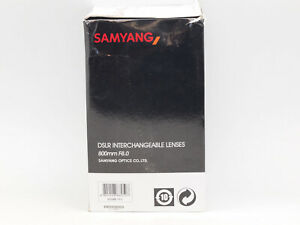 Samyang 800mm Mirror F8 T Mount Manual Focus Lens