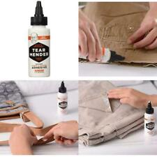 Permanent Leather Fabric Glue for Bond Repair Clothes Patches Couch Bonding Fix