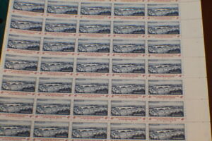 FULL SHEET US STAMP $.04 CENT SCOTT # 1164 FIRST AUTOMATED P.O.