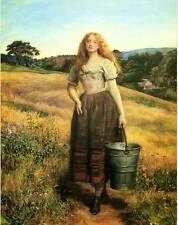 The Farmers Daughter by John Everett Millais
