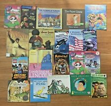 Lot 20 ACCELERATED READERS Picture Books 3rd 4th Third Grade Most AR 3.0 -5.0