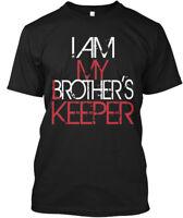 Iammybkcrimson - I Am My Brother's Keeper Hanes Tagless Tee T-Shirt