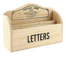 Vintage Home Wooden Letter Rack