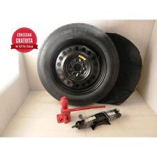 Ruotino di scorta Opel Meriva dal 06/2010 > kit ruota  crick-chiave-sacca