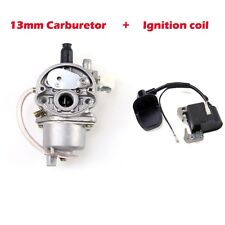 Carburetor +  Ignition Coil 47cc 49cc Mini Quad Pit Dirt Super Pocket Bike ATV