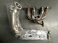 EXHAUST MANIFOLD + dump pipe kit for 3.0L SUPRA 2JZ NA TO TURBO CHARGER