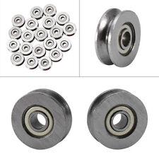 10x/20x Mehrweck Durable Miniaturlager Kohlenstoff Stahl Kugellager Ball Bearing