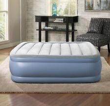 Beautyrest Full Inflatable Hi Loft Raised Air Bed Mattress with Express Pump