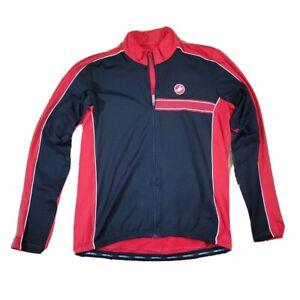 Castelli Perfetto Rosso Corsa Women's Jacket Black/Red XXL