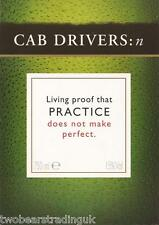 Postcard: Tio Pepe Sherry - Cab Drivers: Practice Does Not Make Perfect (Promo)