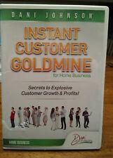 "Dani Johnson 4 Cd Set ""Instant Customer Goldmine"" Free Shipping"