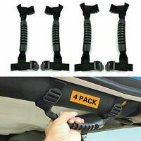 4x For Jeep Wrangler JK JKU TJ Unlimited Car Inner Pillar Grab Handles Roll Bar