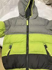 Snozu Toddler Boy's 18M Down Full Zip Hooded Winter Puffer Puffy Jacket Coat