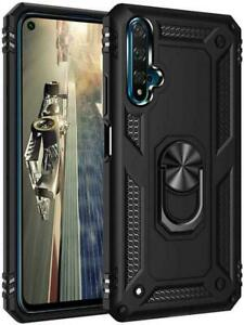 For iPhone 6 7 8 x  360 Hybrid strong armour ring Shockproof Silicone Case Cover