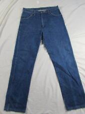 Wrangler 13MWZI Dark Denim Jeans Tag Size 34x32 Measure 33x32 Cowboy