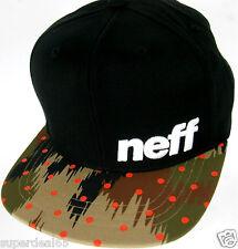 Neff Baseball Cap Youth Daily Pattern Cap Black Camo Dot Neff Headwear Neff Cap