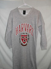 VTG 80's HARVARD night shirt sweat shirt Sm-Med Heather Gray 50/50