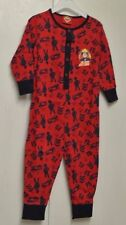 New Boys Fireman Sam100% cotton all in one sleepsuit 1-2 years