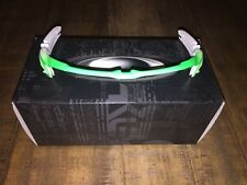 New Oakley Jawbreaker White/Fade to Green Upper Frame Only
