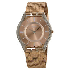 Swatch Rose-Gold Tone Ladies Watch SFP115M-AU