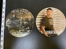 New Kids On The Block Giant Collector Pins