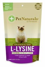 Pet Naturals of Vermont L-Lysine Supplement for Cats 60 Chews 3.74oz