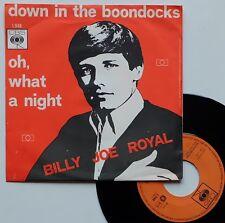 "SP Billy Joe Royal  ""Down in the boondocks"""