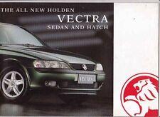 1997 HOLDEN VECTRA B SEDAN & HATCH Australian Brochure Like OPEL VAUXHALL