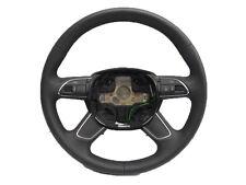 * Audi A4 B8 F/l 12-on Cuero Negro 4 habló Multifunc Volante 4l0419091ac