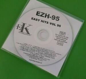 Essential  Karaoke cd+g/cdg EZH-95 Easy Hits,see desc 18 trks/arts, Post Free UK